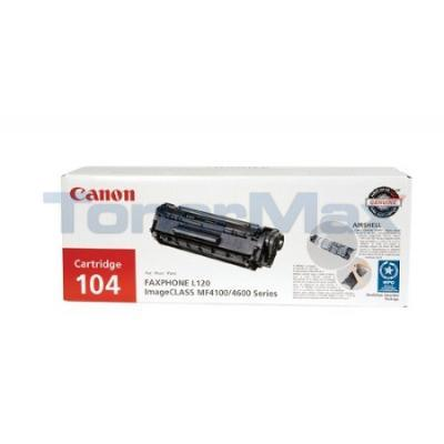CANON FAXPHONE L120 104 TONER BLACK